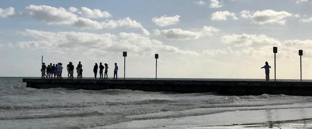 "Listen: ""Long View off a Short Pier"" by Dave McKenney and John H. Cunningham"