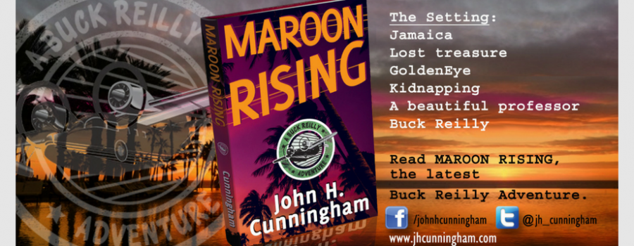 MAROON RISING is FREE on Amazon Kindle