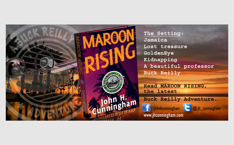 MAROON RISING is FREE on Amazon Kindle