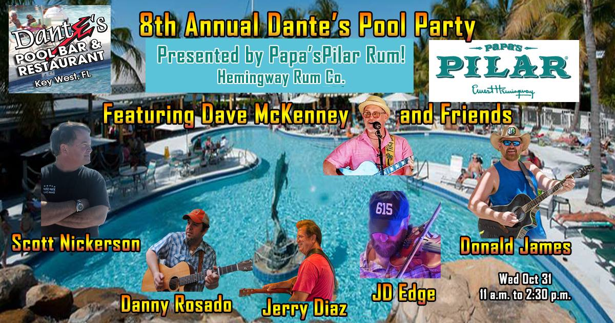 SILVER GOODBYE SIGNING: 8th Annual Dante's Pool Party