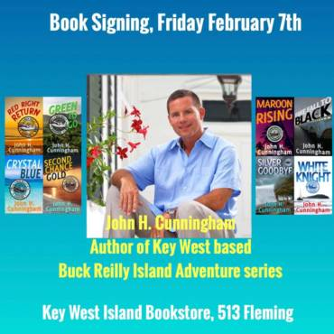 Signing 2/7 at Key West Island Bookstore